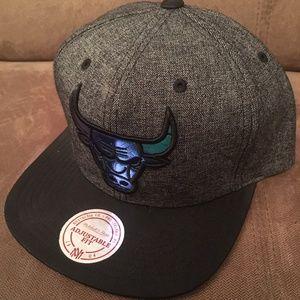 Gray Blue Nostalgia Co. Chicago Bulls Hat Men's